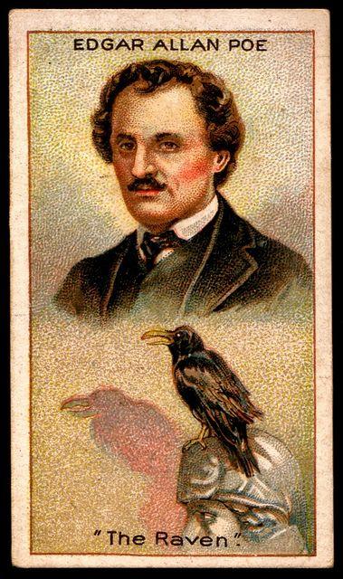 Cigarette Card - Edgar Allan Poe by cigcardpix, via Flickr