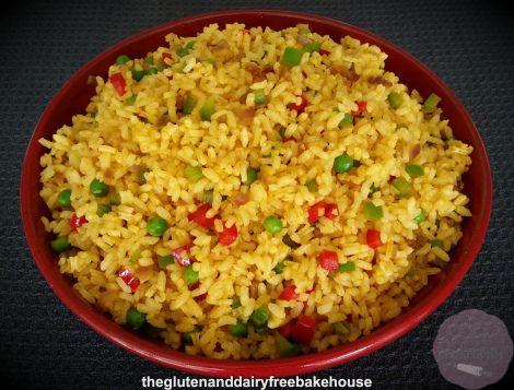 Nandos Style Spicy Rice - V