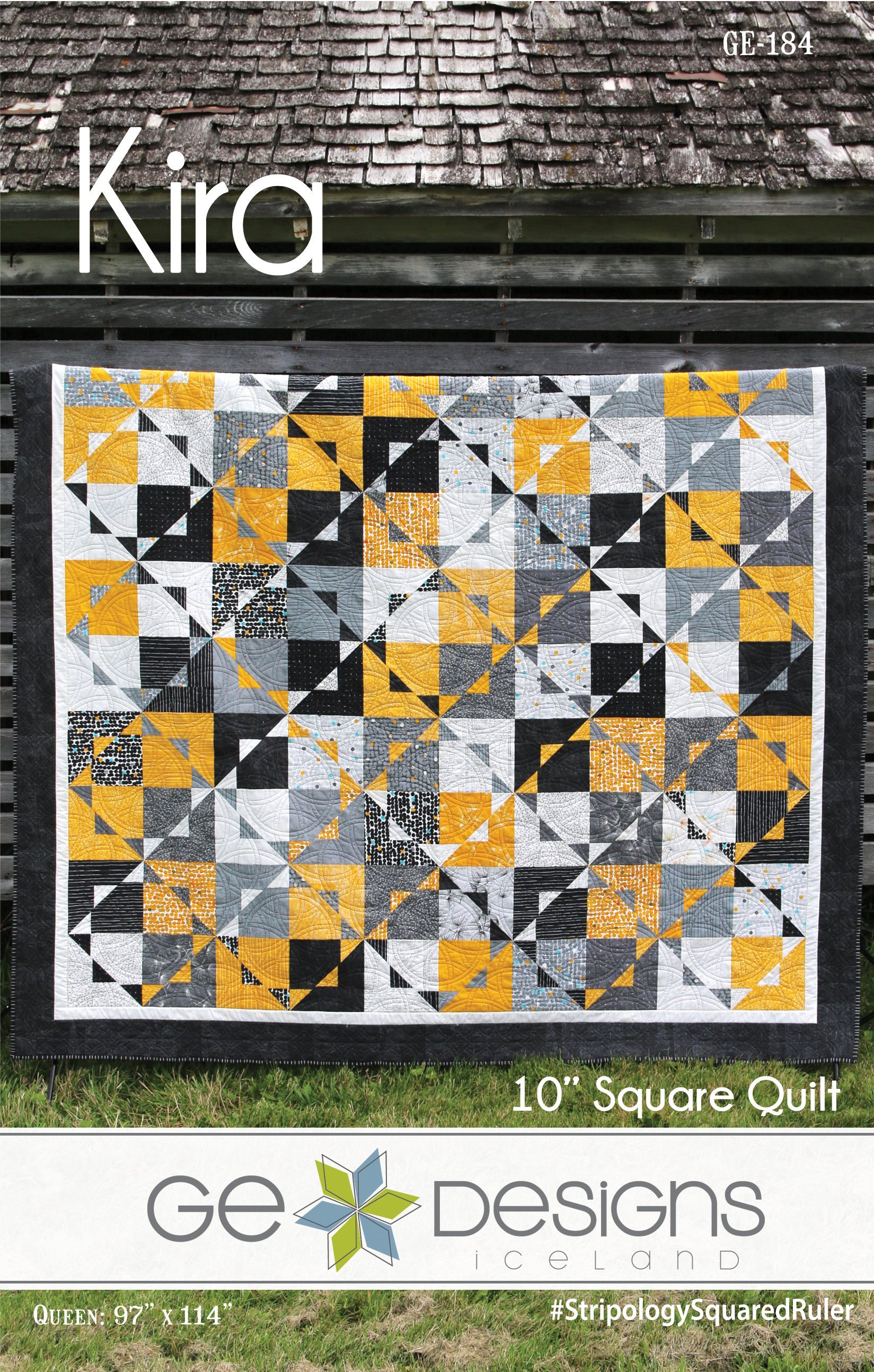 """10 Squared kira 10"""" square pattern 