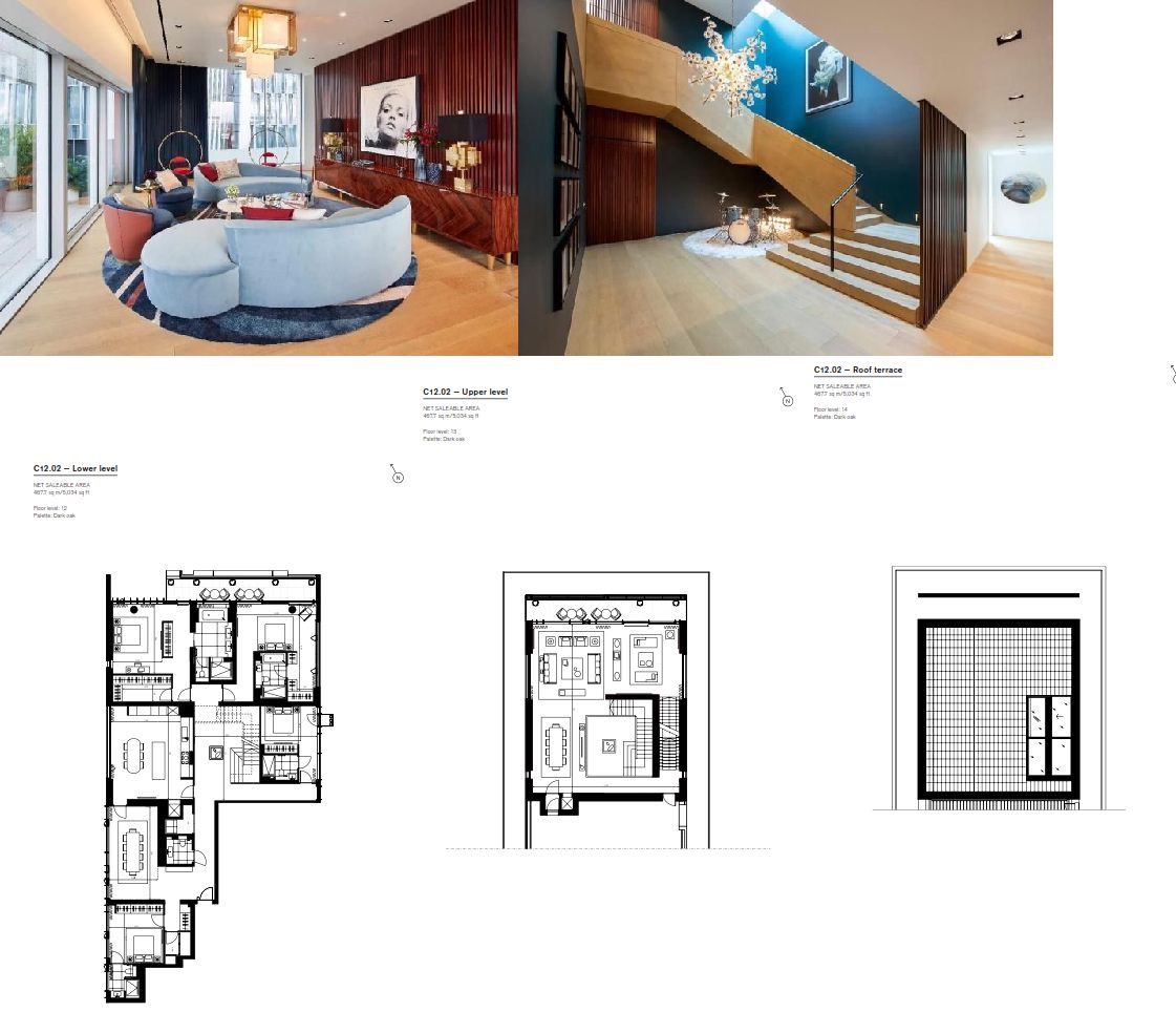 Floorplan For 4 Bedroom Penthouse For Sale In Penthouse At Nova, Buckingham  Palace Road,