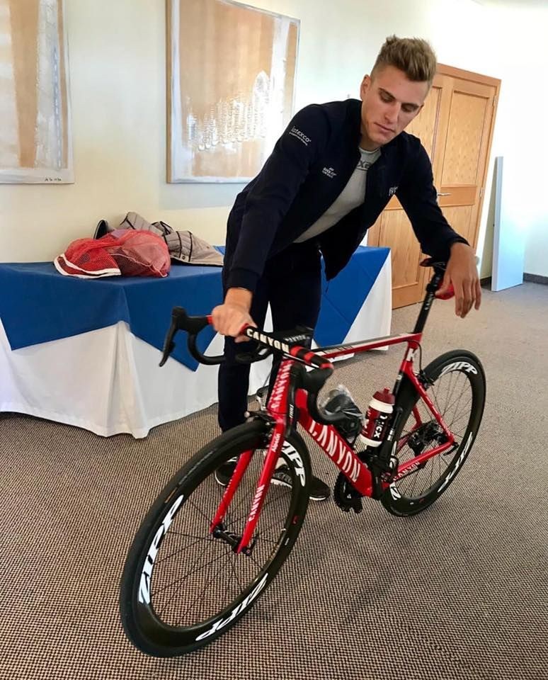 Marcel Kittel is in love with his new Canyon Aeroad  99bcdda11