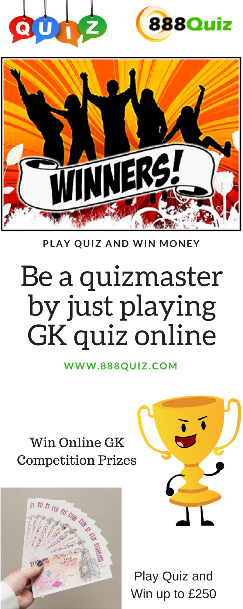 Play quizzes and win money
