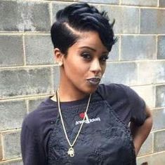 pin on short pixie cuts for black women