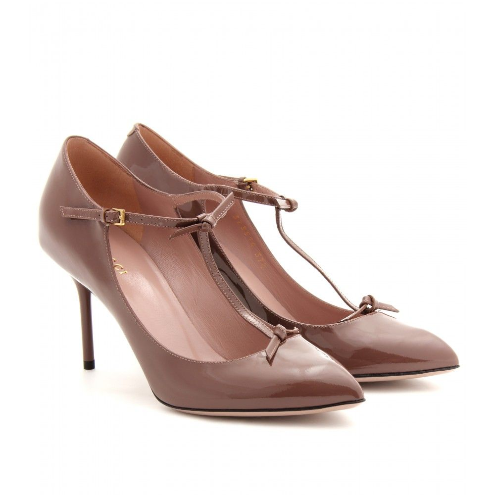mytheresa.com - Beverly Patent Leather Pumps | Gucci ¦ mytheresa.com - Luxury Fashion for Women / Designer clothing, shoes, bags