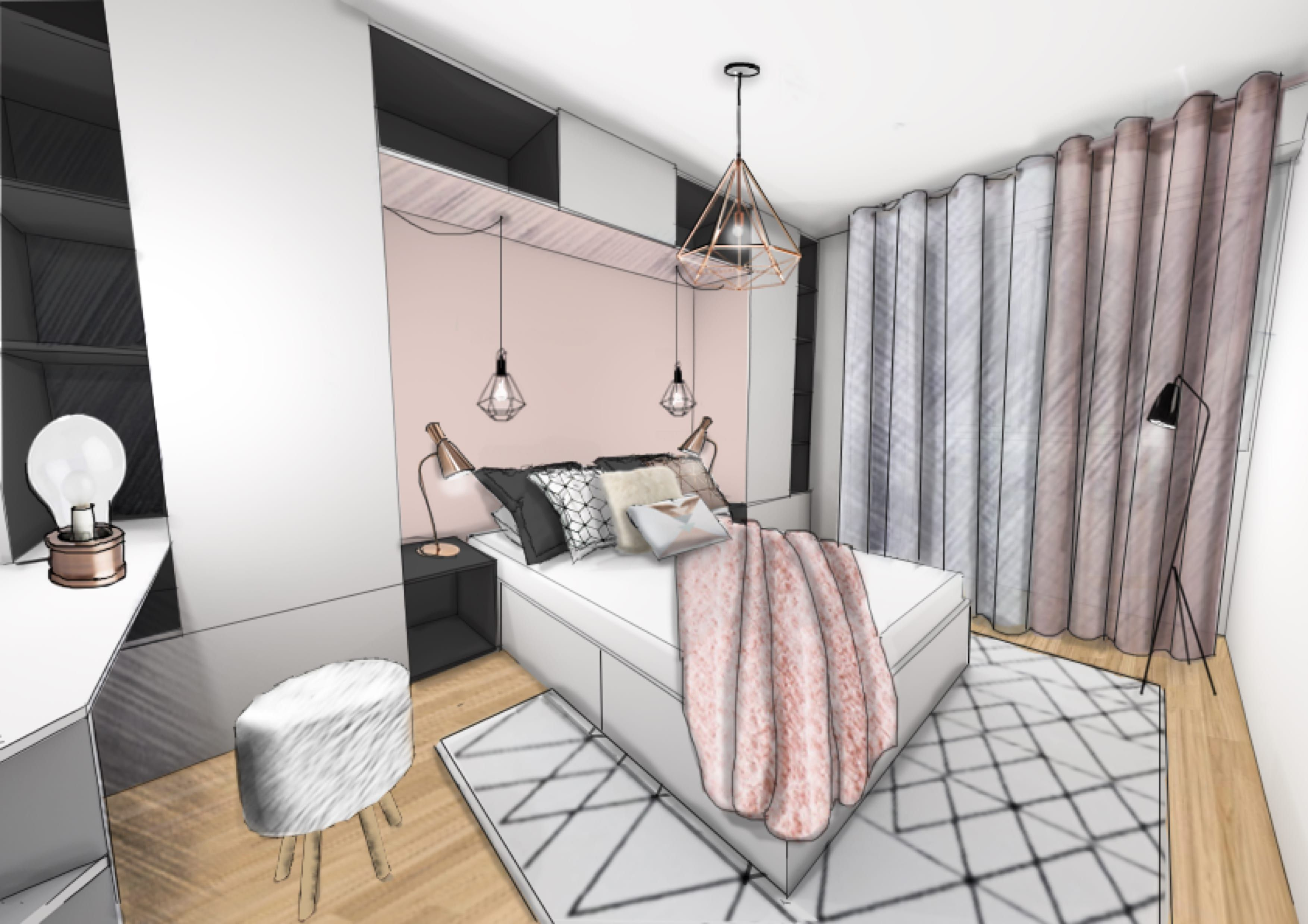 Stunning Chambre Scandinave Rose Images - Antoniogarcia.info ...
