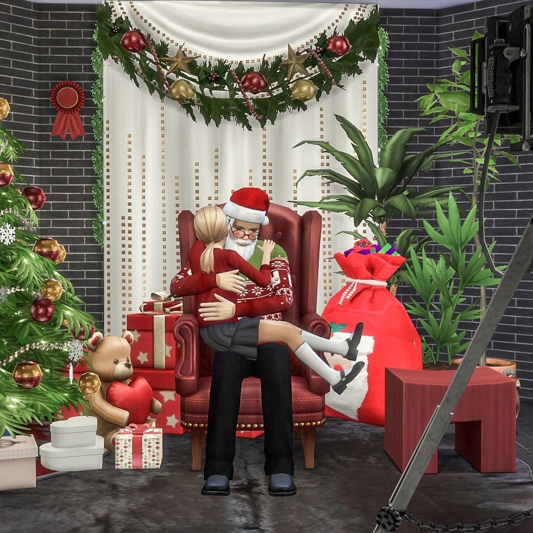 Sims 4 Christmas Poses.Pin On Sims 4 Mods
