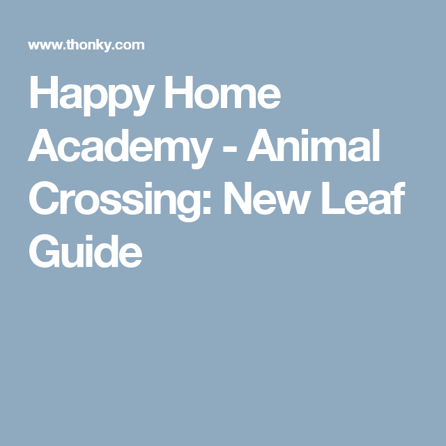 Happy Home Academy Animal Crossing New Leaf Guide Animal Crossing New Leaf Growing Flowers
