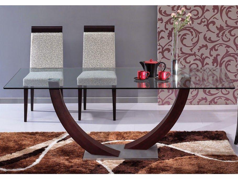 Bases para mesas de comedor modernas buscar con google - Mesas de vidrio modernas ...
