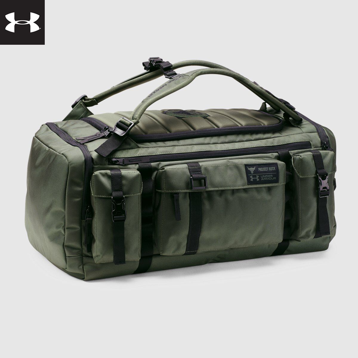 62161e31fd UA x Project Rock USDNA Range Duffle | Under Armour | Gym Wants ...