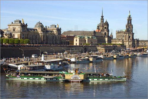 Poster Dresden | Dampfer Parade