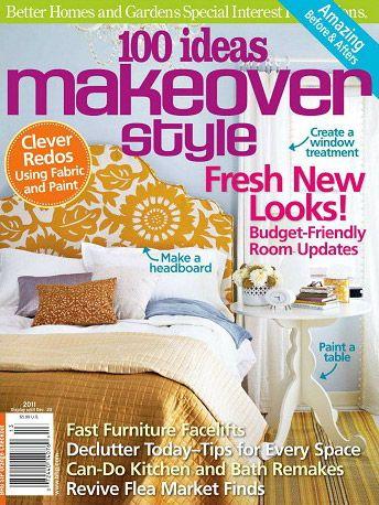3f0f90c1d345337d113627cd860b895e - Better Homes And Gardens Flea Market Style Magazine