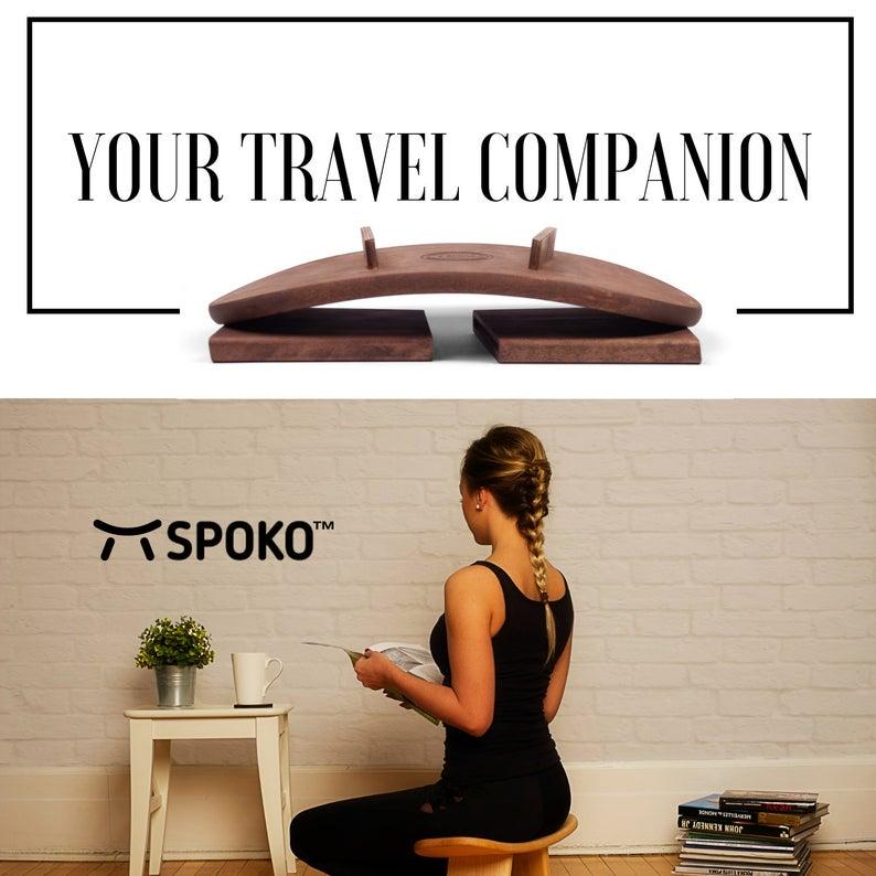 SPOKO™ Meditation Bench, The Original Kneeling Stool