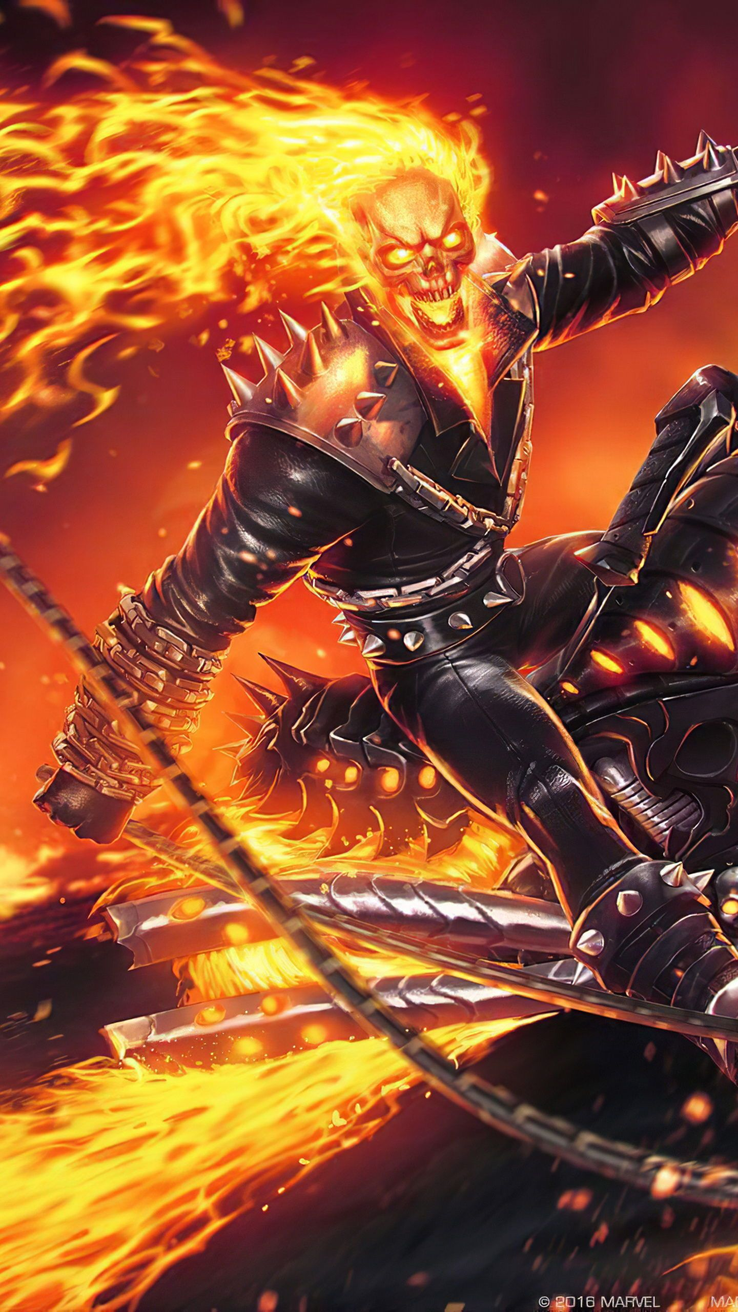 Download Hd Wallpapers For Free Ghost Rider Wallpaper Ghost Rider Marvel Best Home Screen Wallpaper