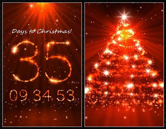 Live Christmas Countdown Desktop Wallpaper Christmas Countdown Wallpaper Live Christmas Countdown Christmas Live Wallpaper