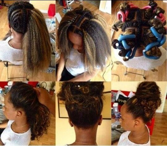 Awesome, vixen crochet braids! Hair at edges and middle left out to ...
