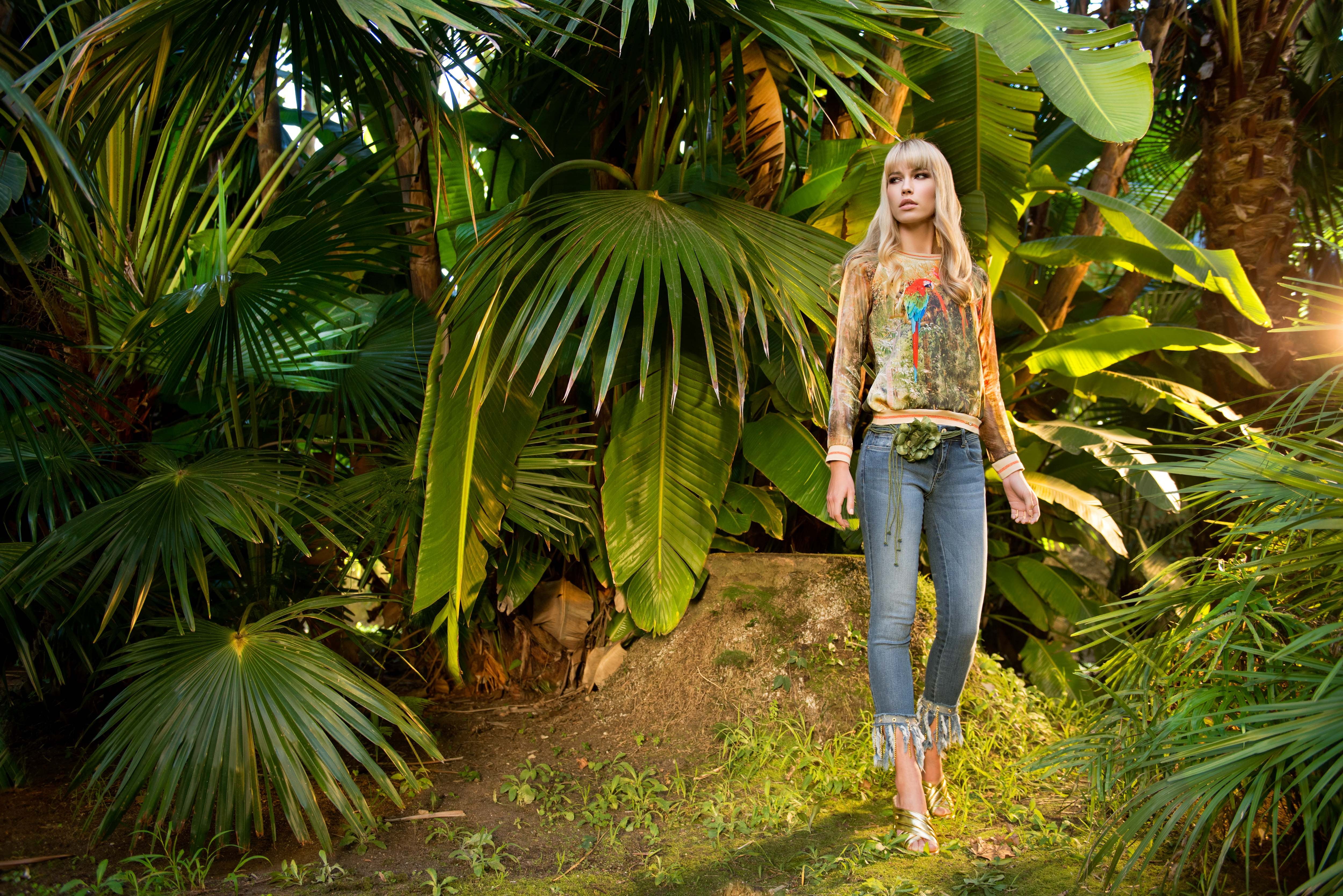 Exotic fashion look - Sahoco