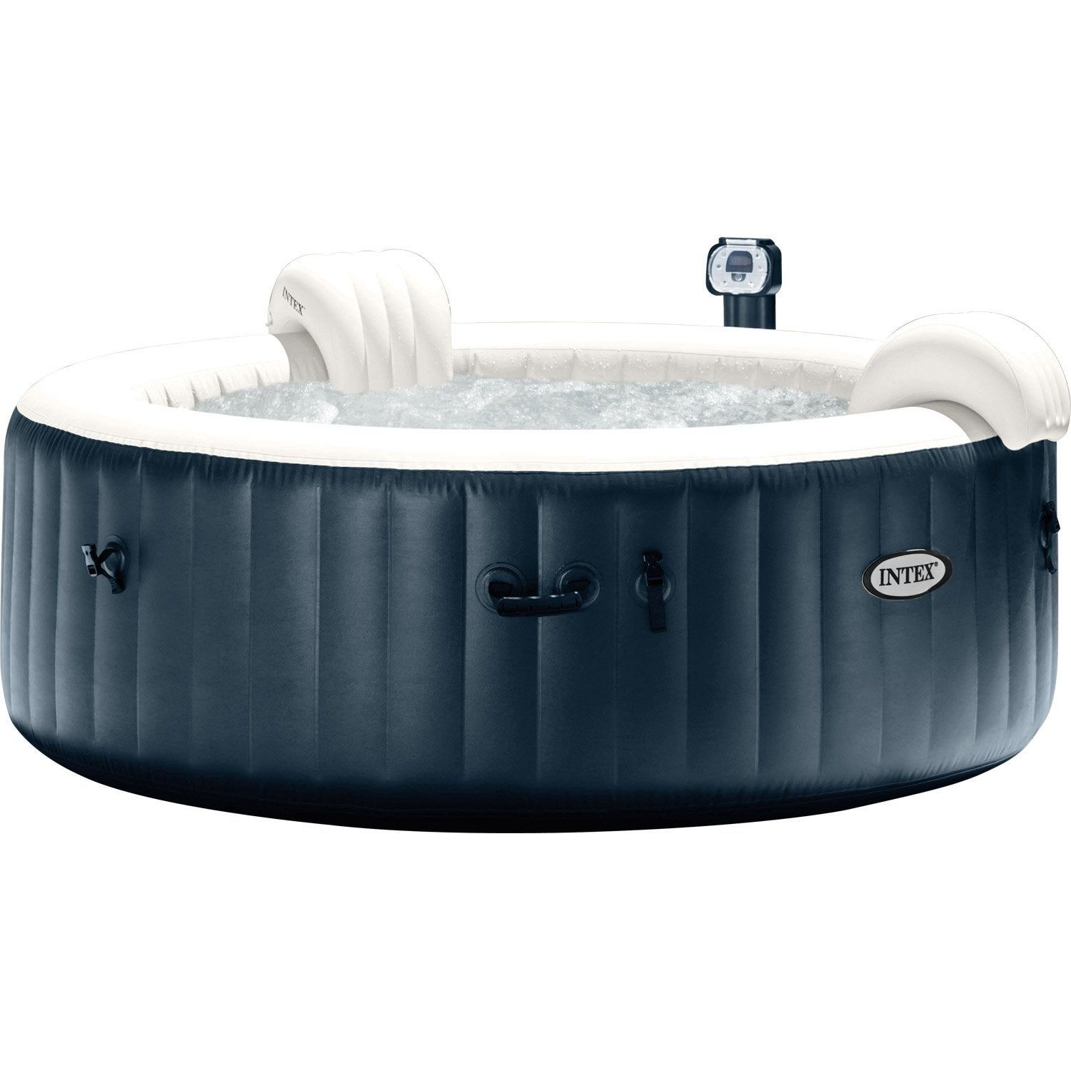 Spa Intex 6 Personnes Leroy Merlin spa gonflable intex pure spa bulles led rond, 4 places