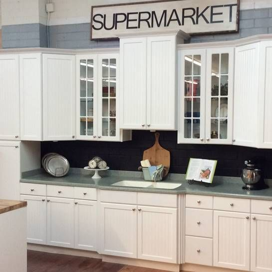 Rta Beadboard Kitchen Cabinets The original #Aspenbeadboard White is a frameless #kitchencabi