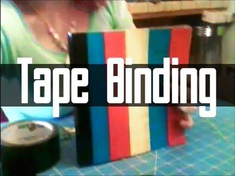 This tutorial will teach you how to bind a book yourself using duct tape! This is a great tool for scrap-booking and journal making.    This project is suitable for beginners and the length will depend on the size of the book. Estimate for about a minute a page.    I am a beginner scrapbook-er! Leave a comment below if you are a youtube scrapbooker ...