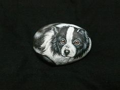 Rockpainting - Border Collie 0002