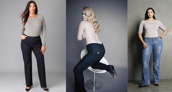 Flattering Plus Size Jeans - Is Jeans