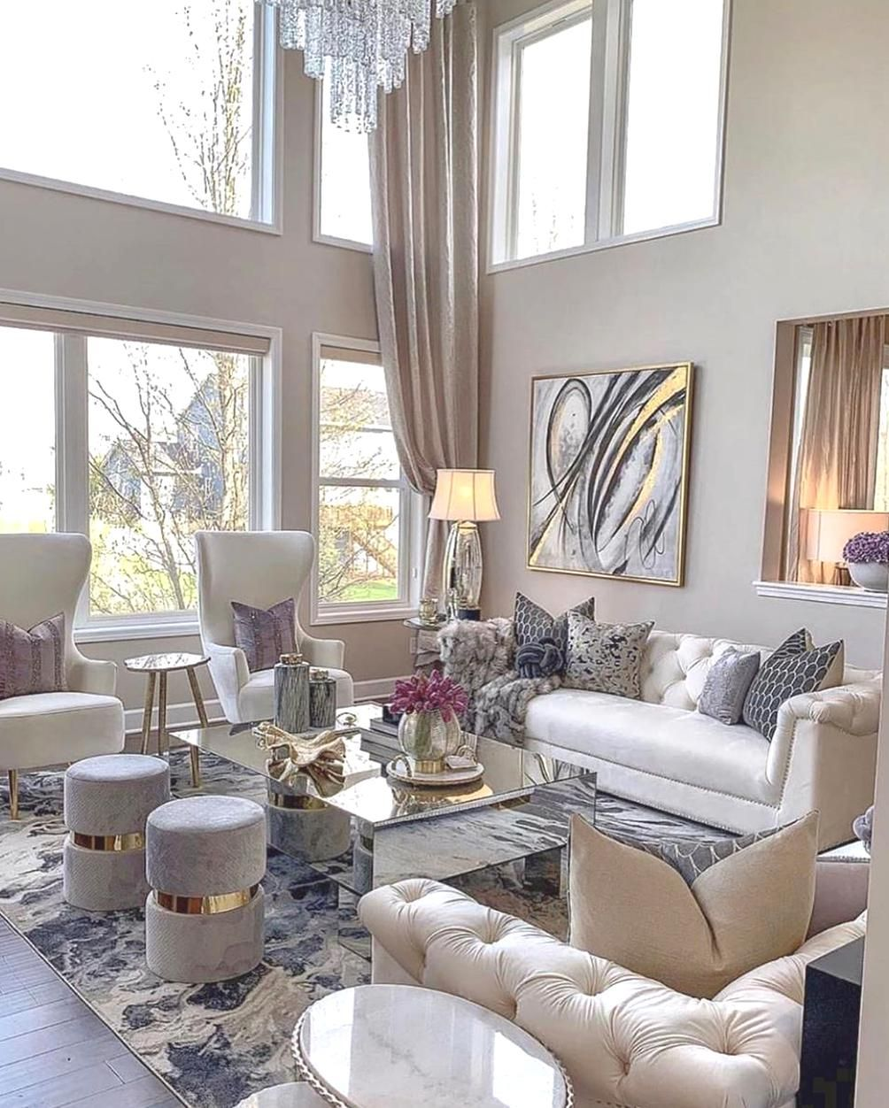 So In Love With This Beautiful Living Room Follow