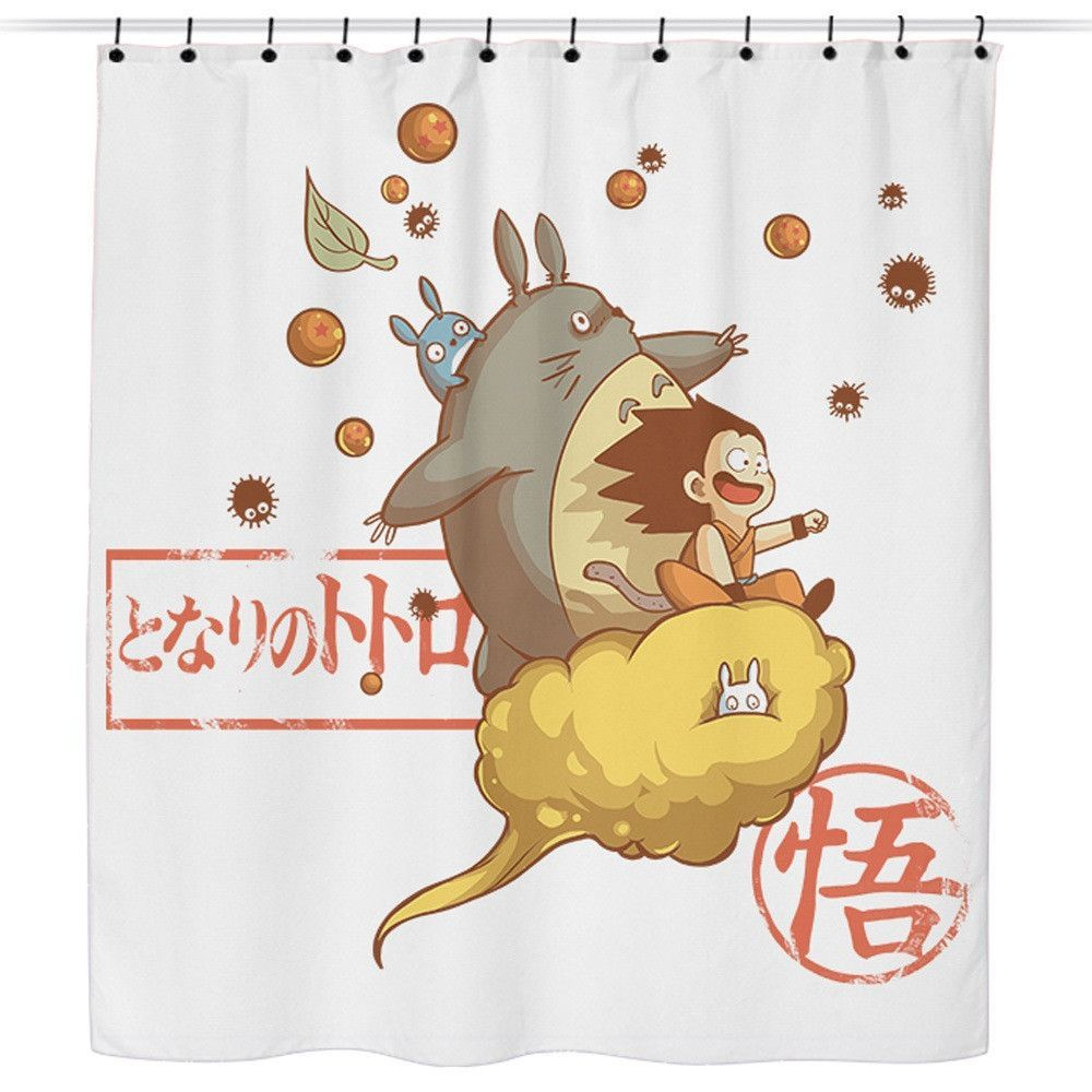 Awesome Friends Shower Curtain Friends Poster Totoro Canvas