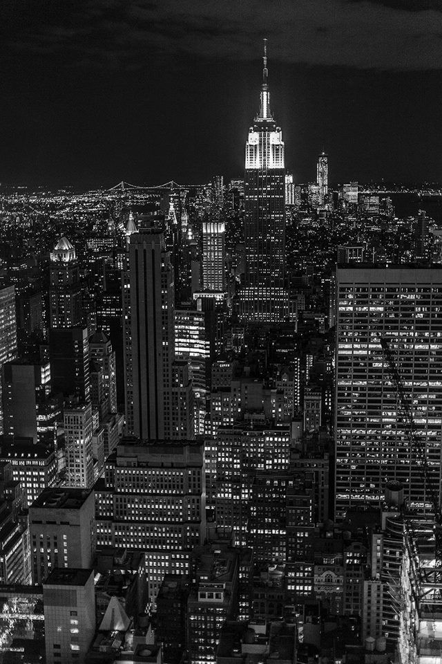 New York Buildings City Skyline Black And White Wallpaper Hd 7733 Wallpaper New York Wallpaper York Wallpaper Landscape Wallpaper