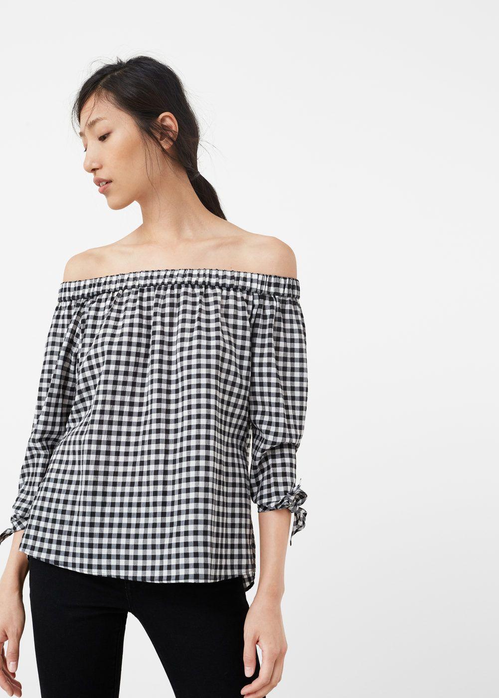 c5b062ce4a773 Blusa off shoulder - Camisas de Mujer