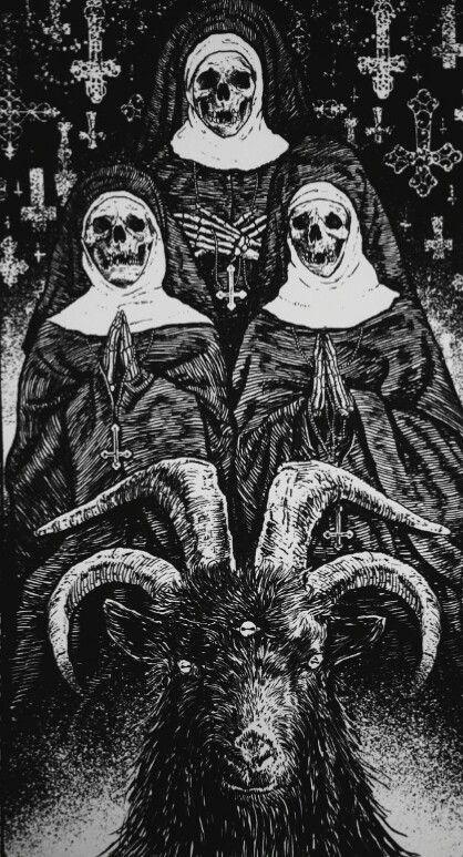 몬스터형태에 있는 dd님의 핀 Satanic art, Satan 및 Macabre art