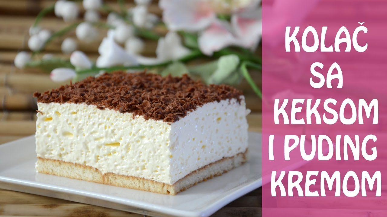 c59557cffaada Super brzi kolač sa keksom i puding kremom | Natašine slastice - YouTube