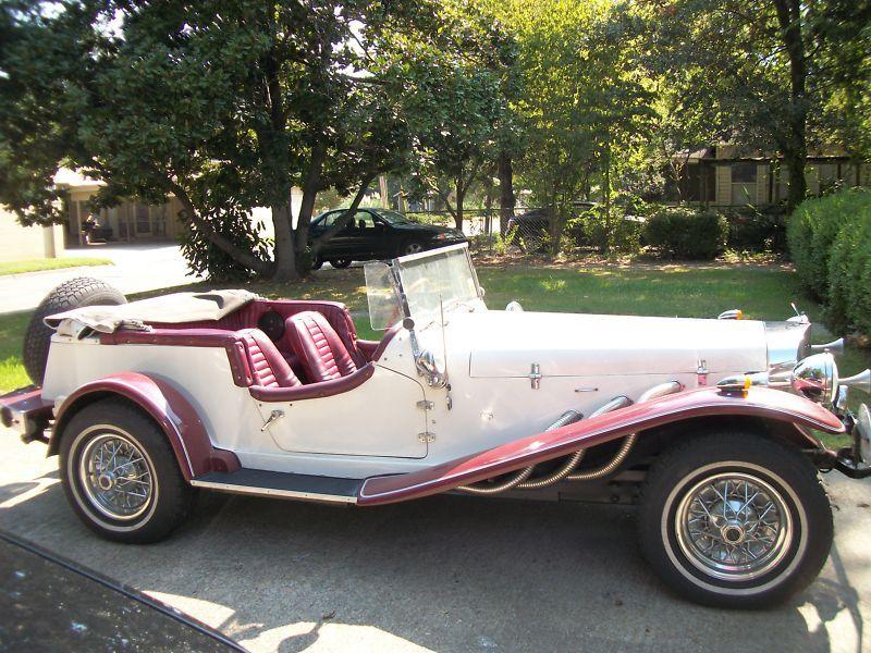 1929 Replica Kit Mercedes Gazelle Roadster Roadsters Gazelle Mercedes