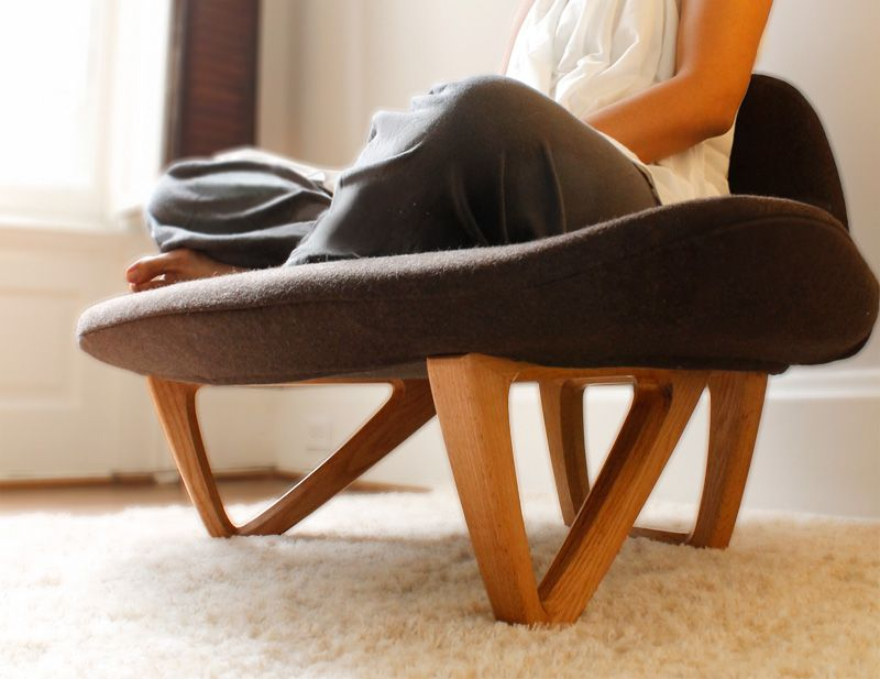 om chair by Nori Sakatsume | Meditation chair, Meditation ...