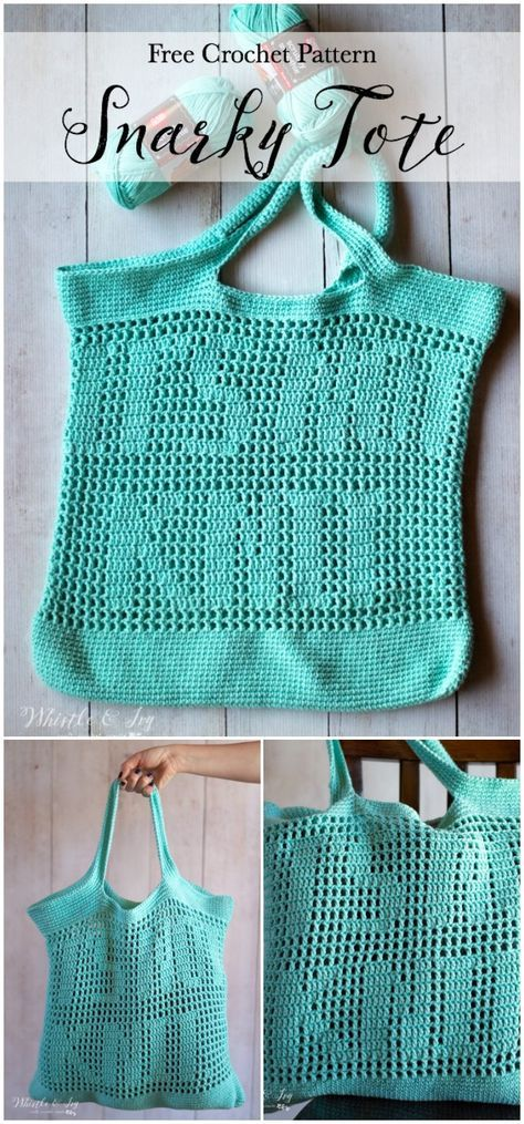 Crochet Bag Patterns And Handbag – Free Crochet Patterns #filetcrochet
