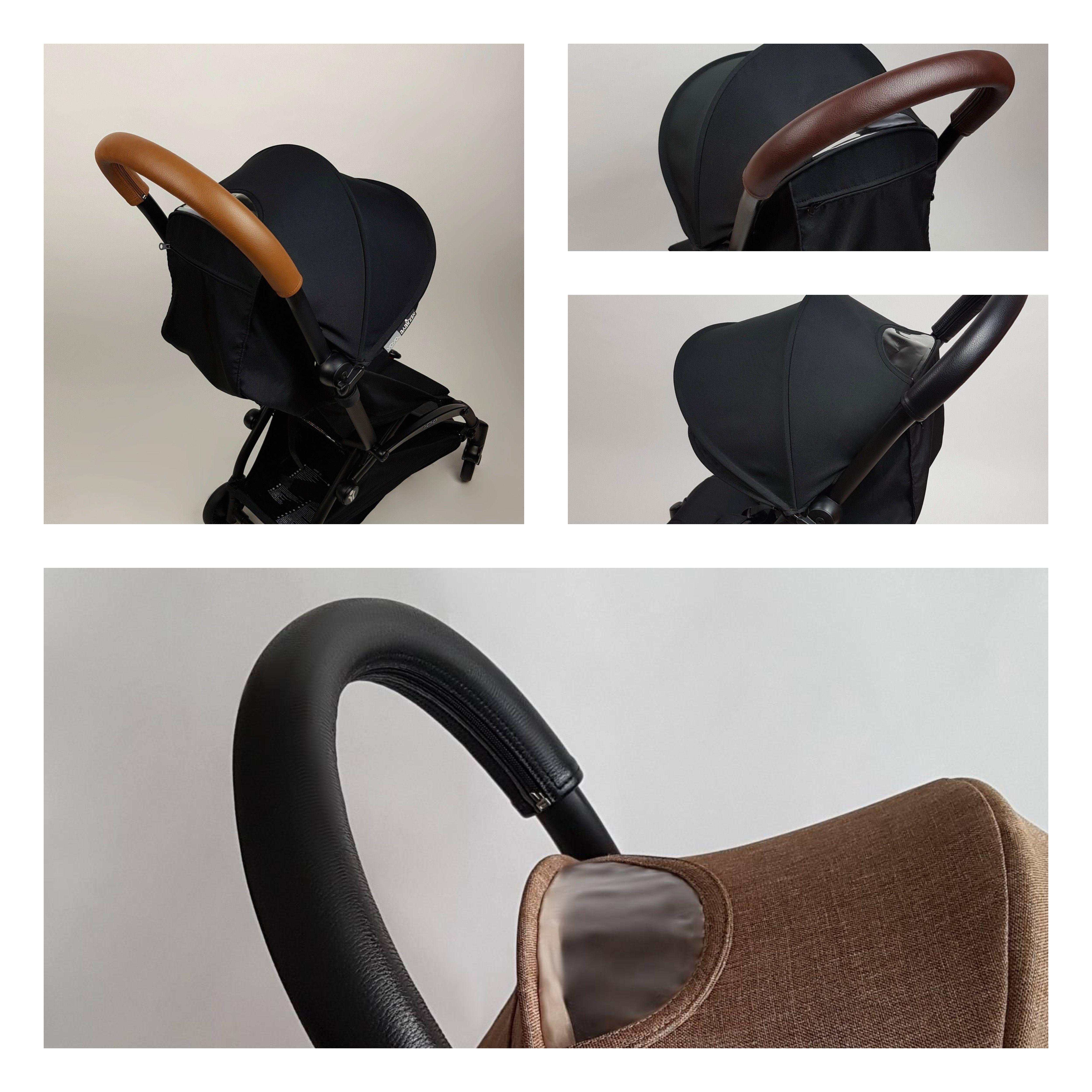 Genuine Leather handle bar cover for Babyzen Yoyo, Yoyo+