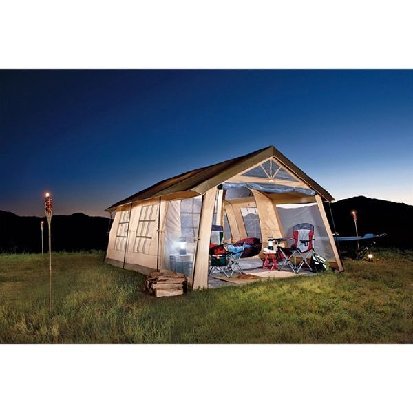 Why go c&ing in a tiny tent that you have to lay in the fetile position in to get into why not just bring your house with you? With the Northwest ...  sc 1 st  Pinterest & sears tents | Northwest Territory Front Porch Tent - $229.99 ...