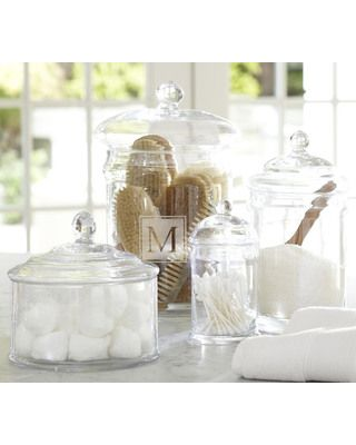Bathroom Canister Amazing Corner Bathtubs Glass Canisters Pottery And Barn