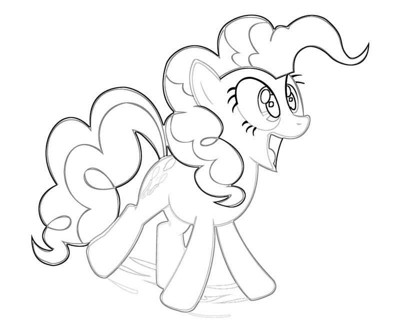 My Little Pony Pinkie Pie Coloring Pages Free Coloring Pages - copy my little pony coloring pages of pinkie pie