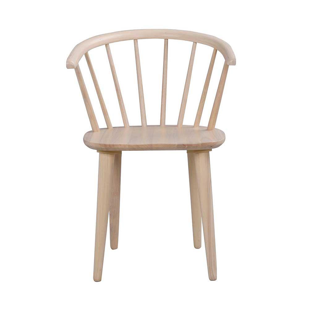 Esszimmerstuhl aus Holz massiv White Wash (2er Set) Jetzt bestellen ...