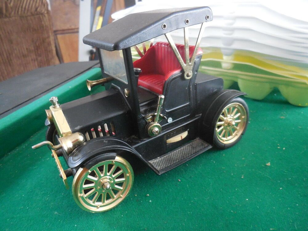 Vintage Model T 1917 Am Transistor Radio Auto Car Metal Untested