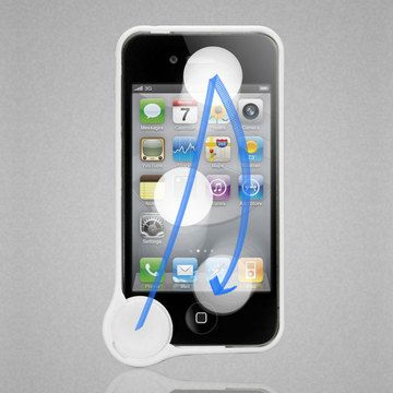 Wipecoin For The Iphone 4s Integrated Cleaning Coin For Cleaning The Screen