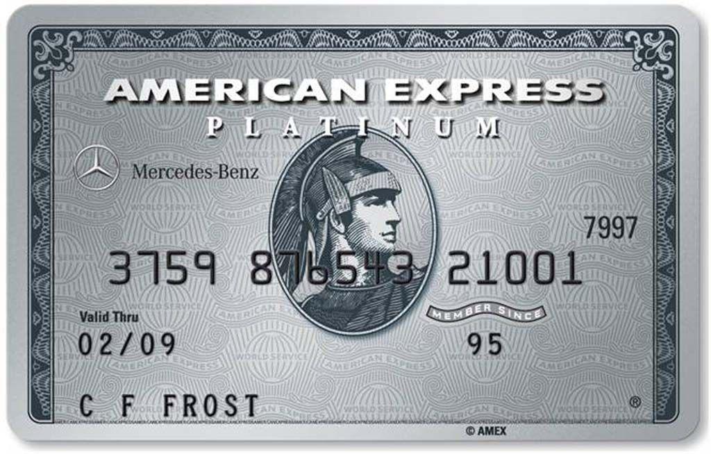 American Express Usa >> American Express Platinum Usa Mercedes Benz A Interest