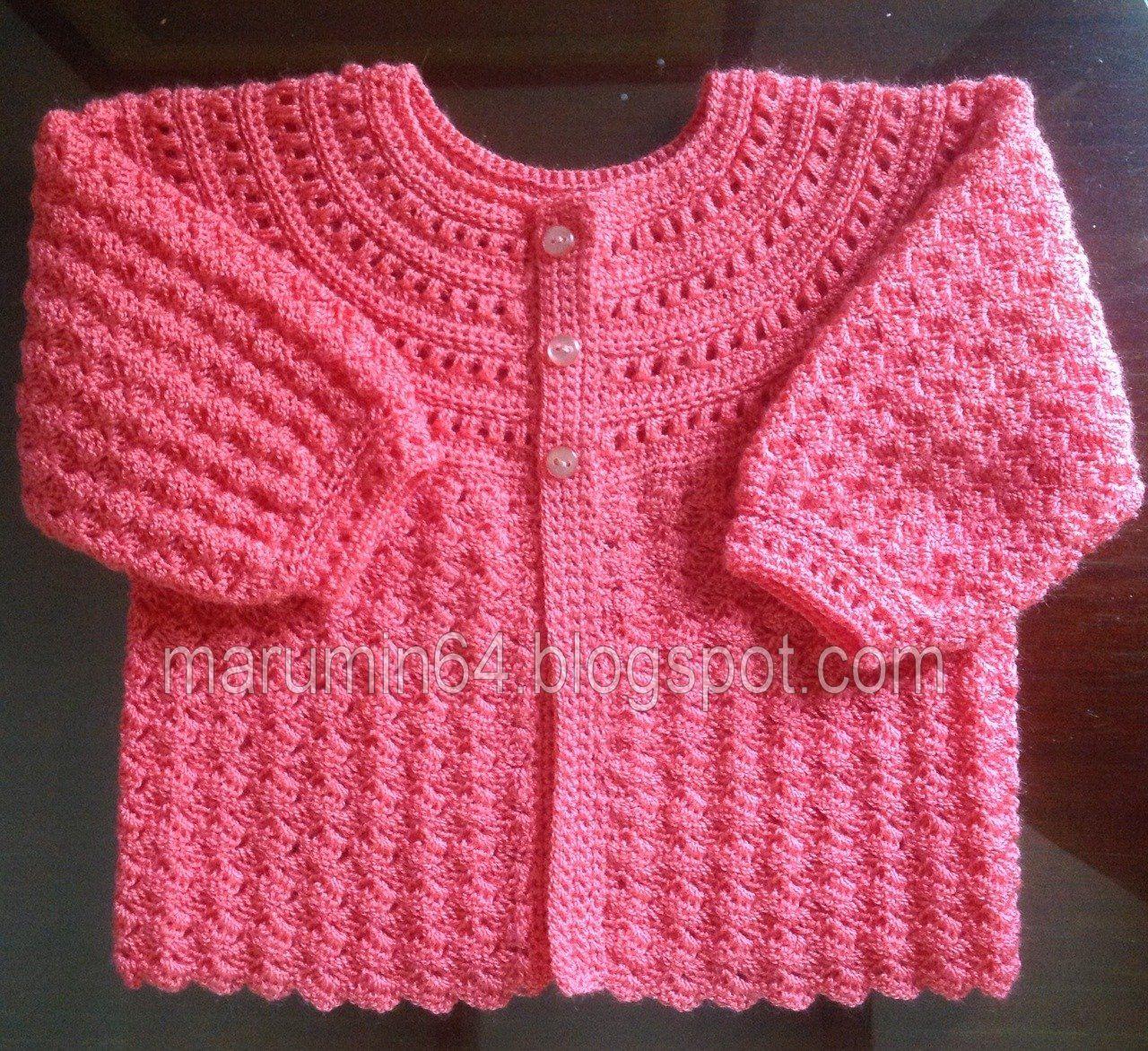 baby crochet, crochet para bebe | jerseys de bebe | Pinterest ...