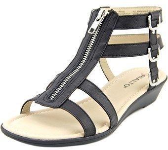 9dca2b160b8176 Rialto Gracia Open Toe Synthetic Gladiator Sandal.