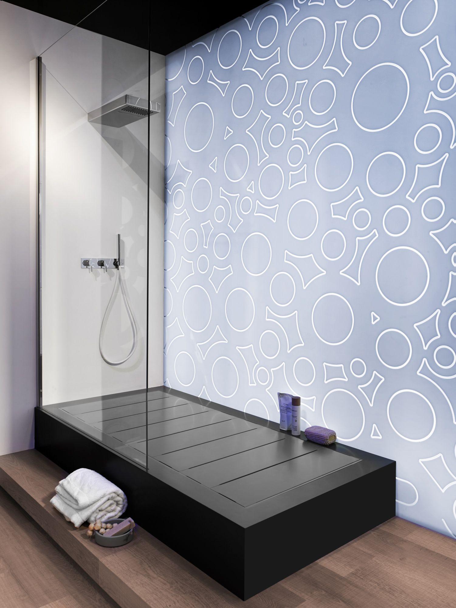 Corian® Colour: Vanilla Application: Ensuite floor, vanity tops and ...