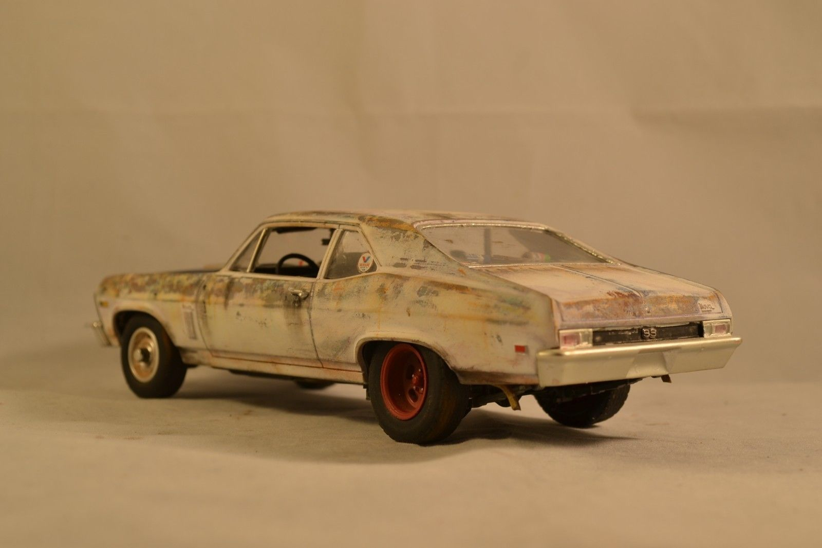 Pro Built 1972 72 Chevy Nova Weathered Rusted Junker Adult Super