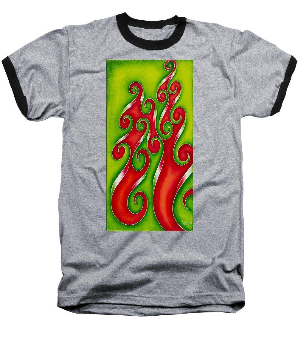 Swirl Lake, No. 5 - Baseball T-Shirt
