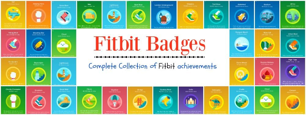 Fitbit achievements make walking fun. The Fitbit app has badges to acquire. They mark milestones like daily steps and total steps walked. See them here.