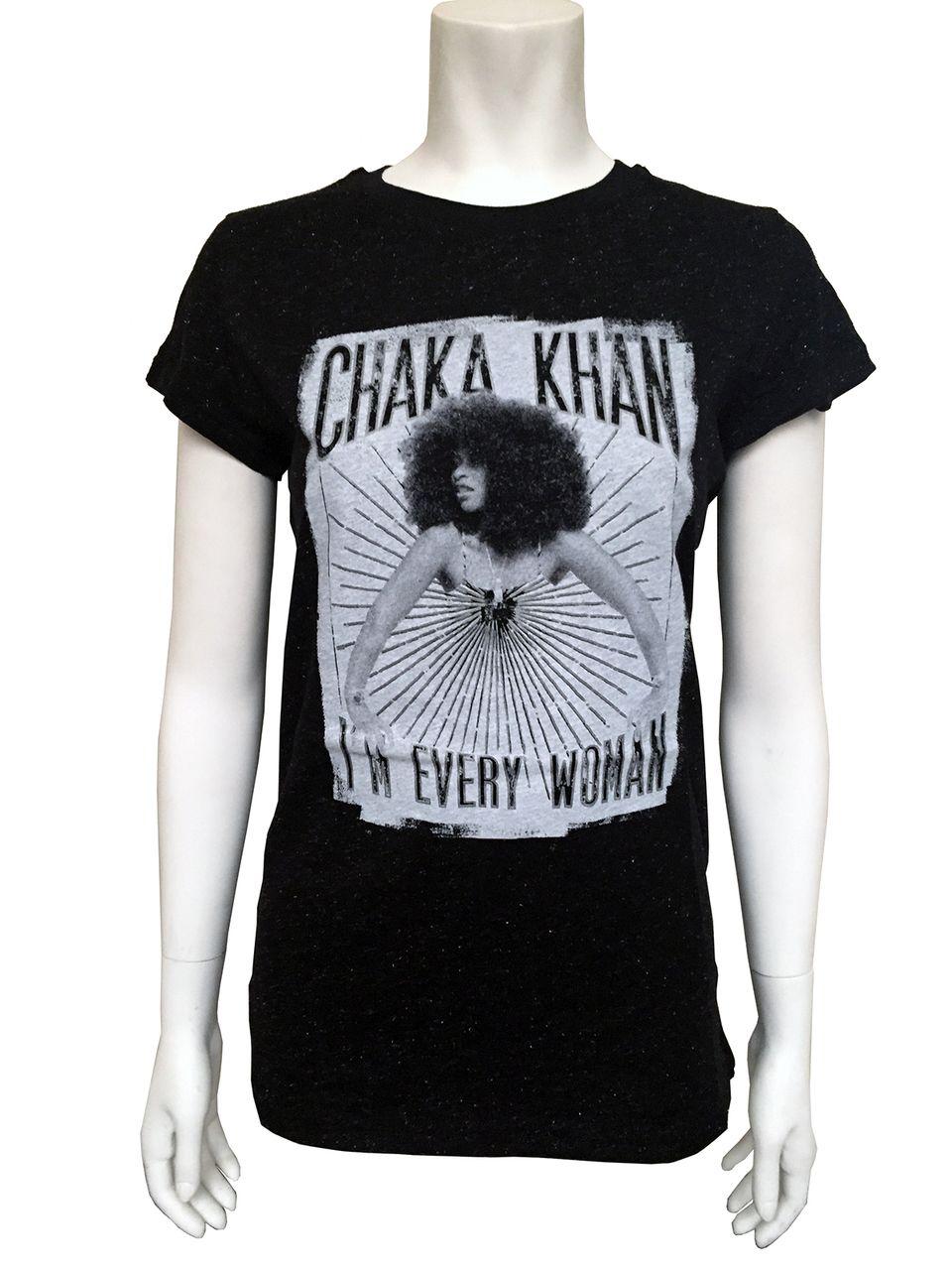 59343d4829 I'm Every Woman Glitter T-Shirt - Official Chaka Khan Store | Just ...