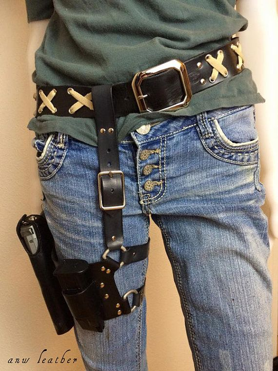 Want. Need. Maggie Greene's holster rig replica by ...